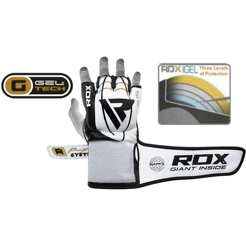 Перчатки для MMA RDX F3 Leather MMA Gloves