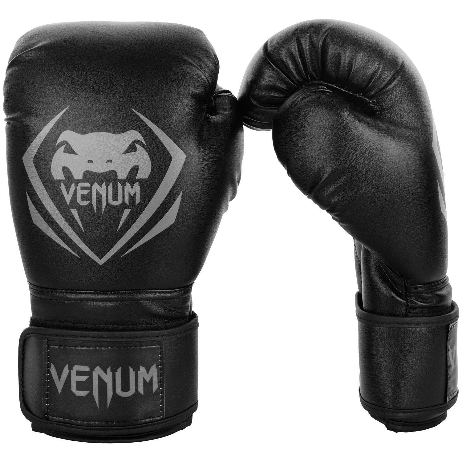 Боксерские перчатки Venum Contender Boxing Gloves - Black/Grey